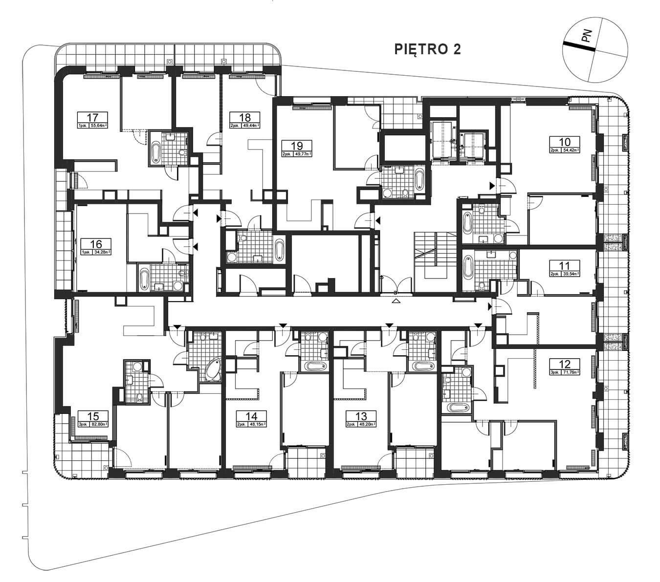 Górnośląska 6 - Piętro 2
