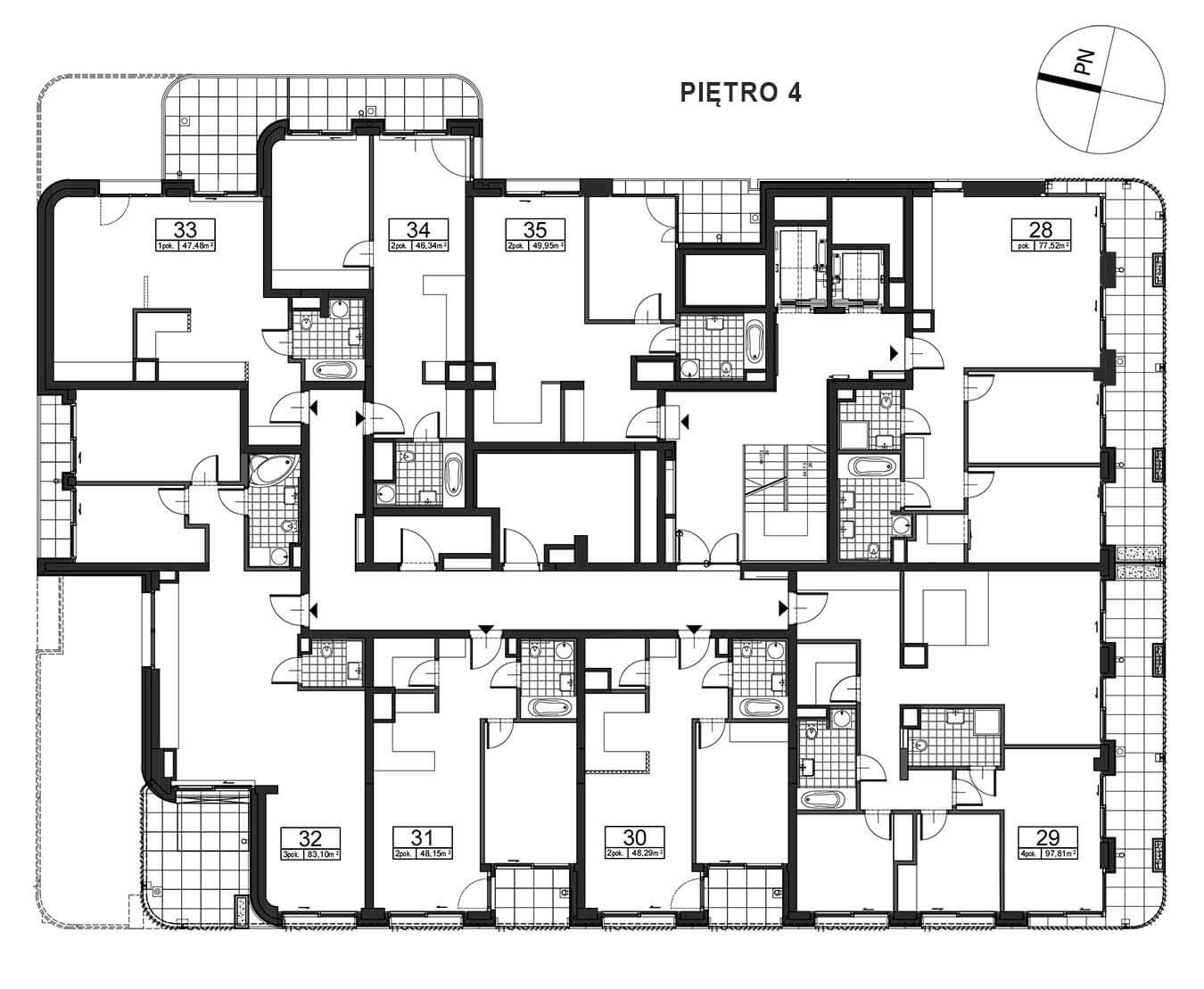 Górnośląska 6 - Piętro 4