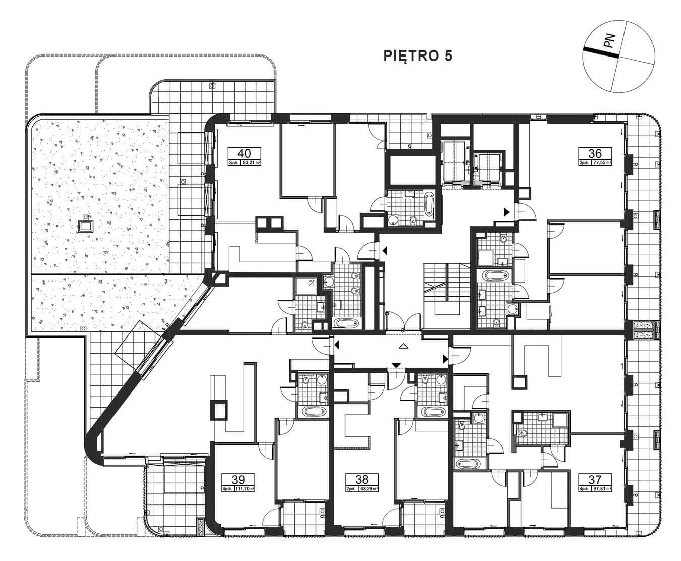 Górnośląska 6 - Piętro 5