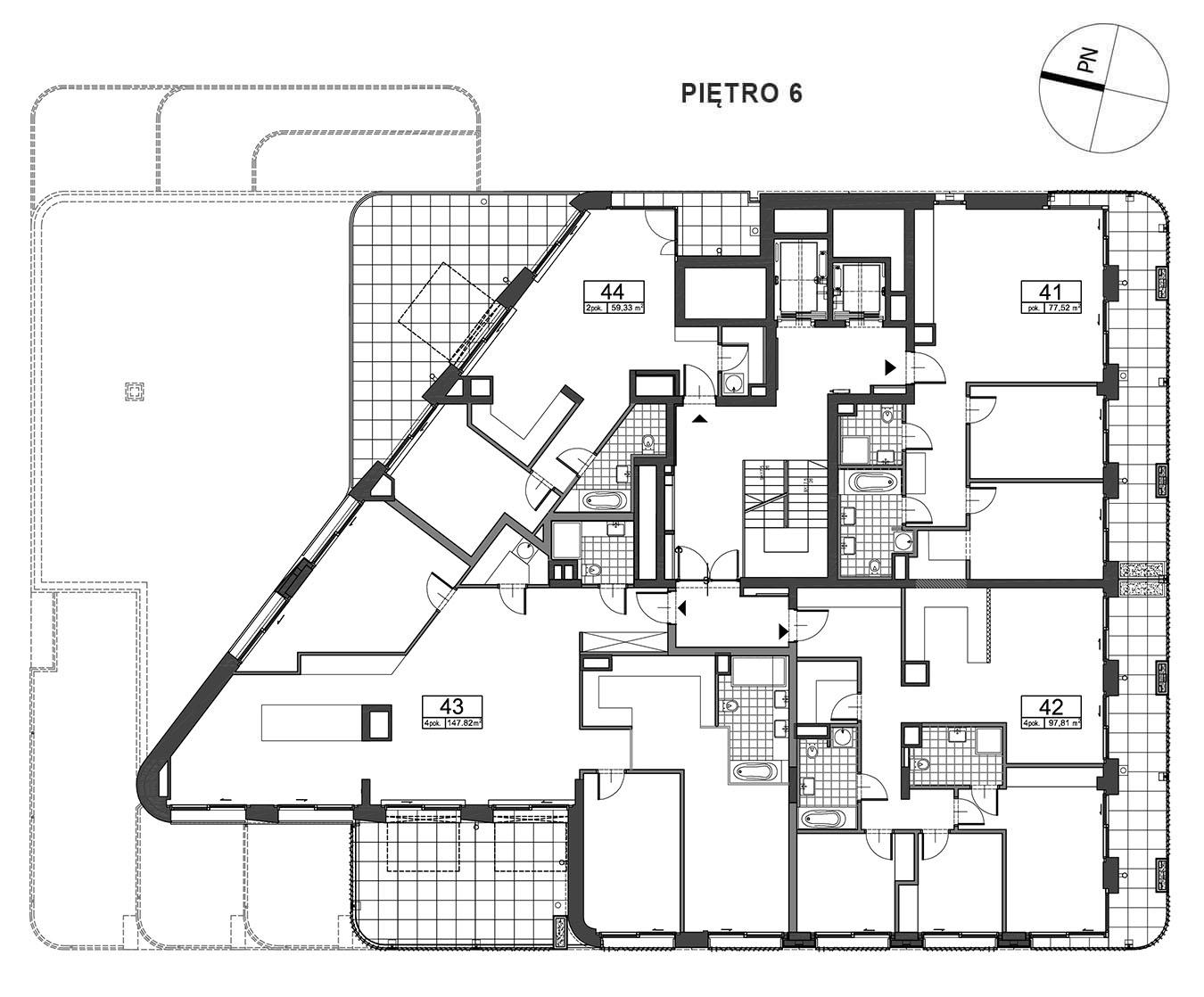 Górnośląska 6 - Piętro 6